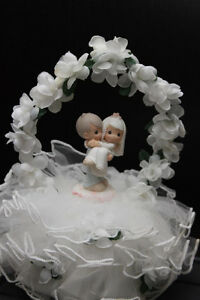 Licensed Bakery Wedding Cake Topper Precious Moments