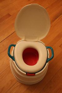 petit pot 3 en 1 pour apprentissage de la propreté