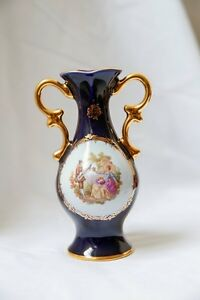 Porcelain Limoges France – Vase Edmonton Edmonton Area image 1