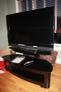 "Sony Bravia 46"" LCD TV and Stand"
