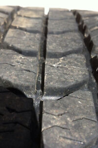 FOUR. 225/60/17 ALL WEATHER M+ S TIRES.  $150