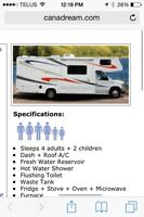 Looking to rent a motorhome that sleeps 5 for 10 days.
