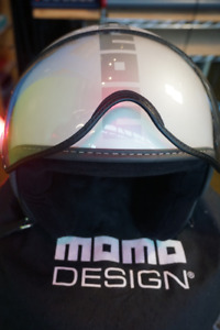 Small GORGEOUS Scooter/Motorcycle Helmet: MomoDesigns size S