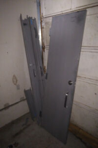 Door - 24(w) x 79, Indoor Flush Security Steel Door & Frame