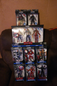 Marvel Legends Complete Build A Figure Sets