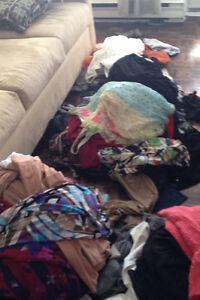 Femme/ado 1 tonne de vêtements de tout genre