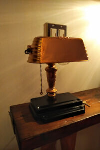 MCM / Antique Table Light / Lamp