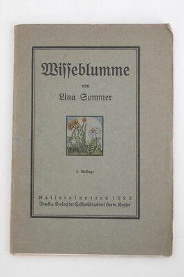 Lina Sommer  -  Wisseblumme , 1923