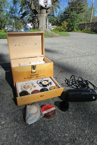 Ronson Shoe Polishing Kit
