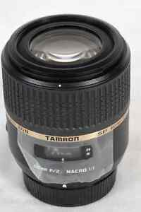 Tamron SP AF 60mm F/2.0 DiII macro 1:1 LD (IF) for Nikon Strathcona County Edmonton Area image 1