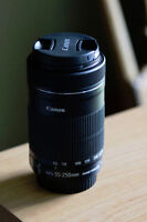 Canon 55-250MM F/4-5.6 IS STM