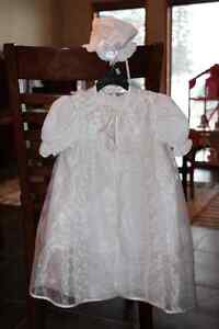 Baby Girl Baptismal Gown Set