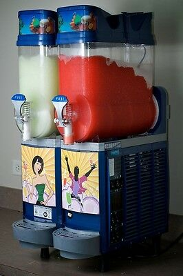 New Blue Faby 2 Bowl Frozen Drink Machine