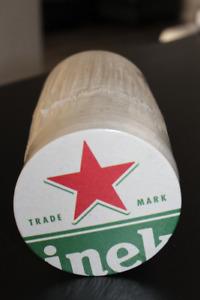 Sous verres de bière en carton de bar, différentes marques. 10$