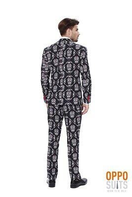 mbre Halloween Anzug Slimline Premium 3-teilig Gr. 56 EU (Opposuit Halloween)