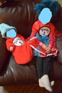 Halloween Thing 1 and Thing 2