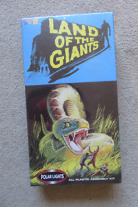 Old sixties Sci-fi series Land of the Giants model kit for sale.