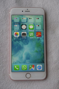 iPhone 6s Plus 128GB Rose Gold, Unlocked, mint condition