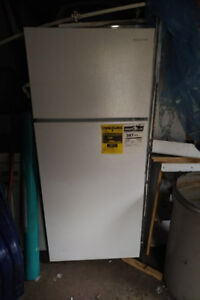BRAND NEW WHITE 30 INCH AMANA FRIDGE