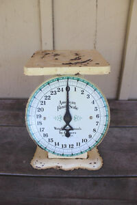 Old Kitchen Weigh Scale