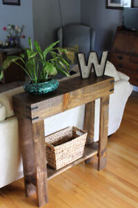 Table - sofa, entry, occasional - plant stand