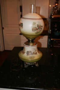 GORGEOUS ORIGINAL GONE WITH THE WIND LAMP