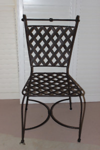 Decorative Wrought Iron Chair