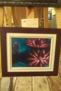 """""""Lilies"""" 8x10 Acrylic Framed"""