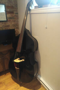 Upright bass + gear - As is accepting offers.
