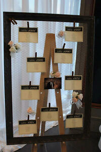Wedding Seating Chart Frame for Rent