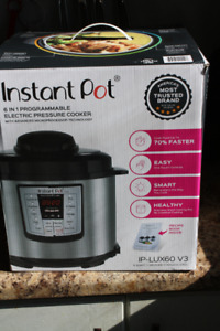 Instapot  Pot Lux 6-in-1 Multi-Use Programmable Pressure Cooker,