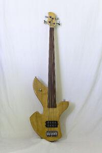 Fretless 4 String Bass Guitar