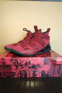Nike lebron soldier 11 red zoom