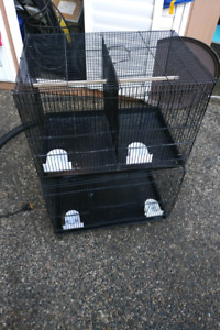 2 breeding cages with dividers