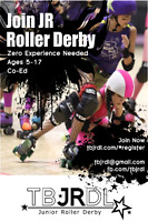 Be a bad ass. Join JUNIOR ROLLER DERBY