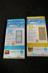 Bionaire Aer1 Air and Bionaire AER1 Odor Eliminator Air Filters