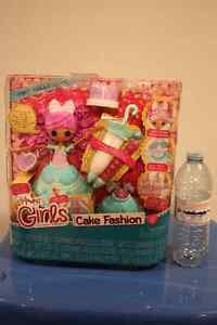 BRAND NEW IN THE BOX LALALOOPSY GIRLS CAKE FASHION