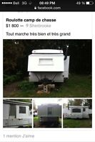 Roulotte camp chasse
