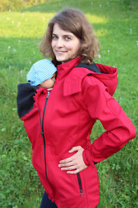 5in1 Softshell baby carrying jacket
