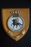 Vintage & Rare Canadian Military Crest - HMCS Athabaskan