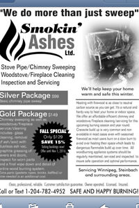 Smokin ashes chimney/woodstove sweep clean