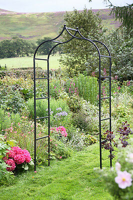 Baroque Garden Arch by Tom Chambers - Metal Garden Arch