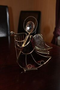 3D Stained Glass Angel, Christmas
