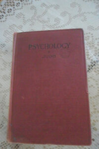 Antique psychology and vintage psychiatry books