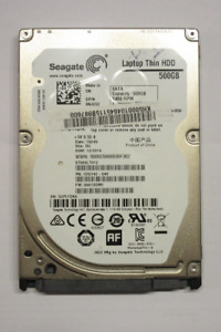 Laptop Hard Disk - Seagate 500GB 5400RPM