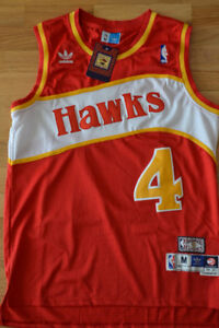 NEW w tags Spud WEBB All Embroidered Jersey