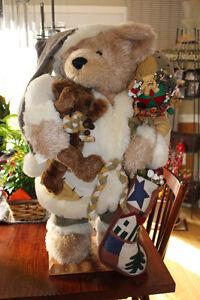 30 INCH CHRISTMAS BEAR - $69 Kingston Kingston Area image 2