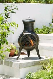 ☀️NEW La Hacienda Clifton Chiminea Burner Heater Fire Pit🔥 Garden