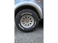 Brand new off-road wheels and tyres!!!!! (L200, Landrover, Toyota, Suzuki, Ford, Navara)