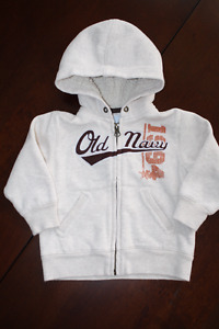 Old Navy Sweatshirt with Sherpa Lined Hood